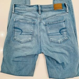American Eagle Outfitters Jeans - American Eagle high waisted skinny jeans